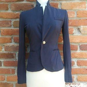 Juicy Couture Soft Blue Blazer